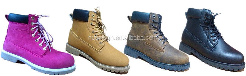 a05f9449 China camello hecho a mano Goodyear calzado de seguridad/zapatos/botas para  workman