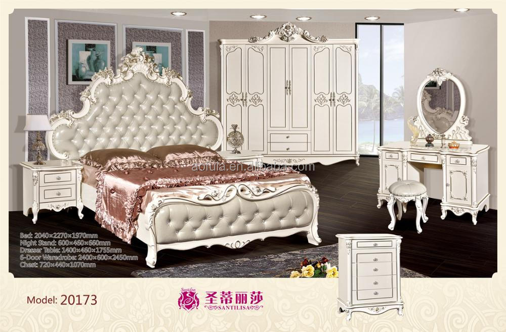 bedroom in alibaba beds bed restaurant from antique wooden leather frame wood with furniture on sets aliexpress item com group
