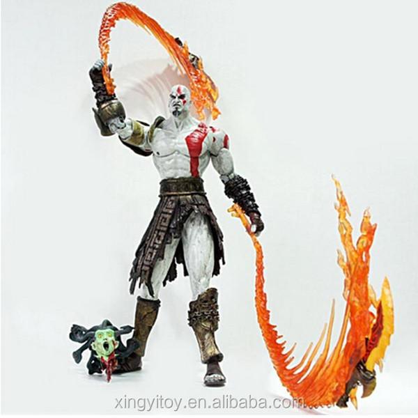 Neca God Of War Ii Kratos Medusa W/sound Figure 12
