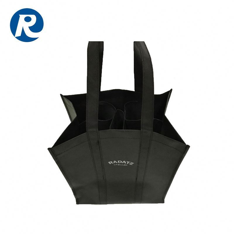 Ruiding Trending Hot Selling Products Cheap Price Printing Non Woven Shopping Tote Wine Bags