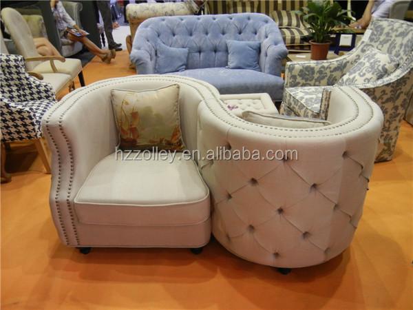 Muebles Del Hotel De Lujo Curvado Salón Sofá,Sofá Club - Buy Product ...
