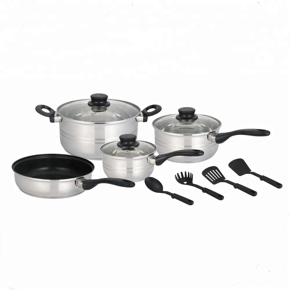 Magnetic Bottom Cookware Sets Kitchen