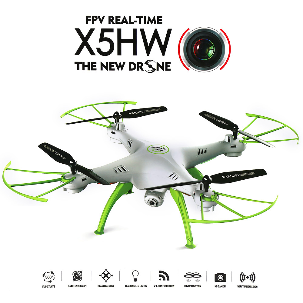 Dropshipping Syma X5HW WiFi FPV RC drone Quadcopter with RTF/0.3 Mega Pixel Camera/ 2.4G 4 Channel 6-axis Gyro