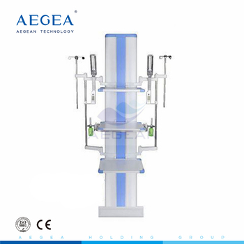 AG-20V-2 aluminum alloy floor stand hospital operation room medical column ICU surgical pendant