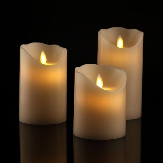 Hot sale high quality low pricemaking wax flameless led candle