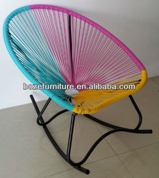 Merveilleux Colorful Outdoor Wicker Acapulco Rocking Chair Made In China