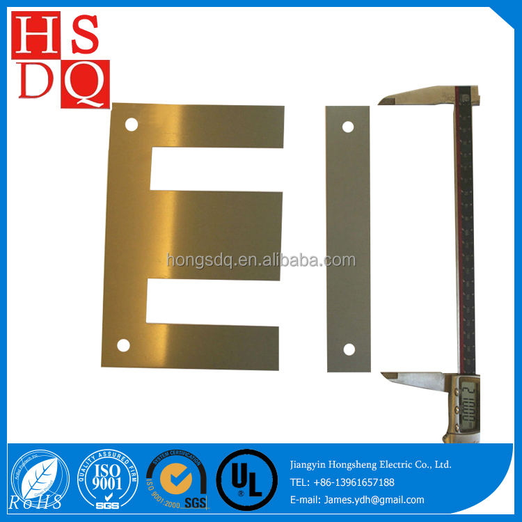 HIGH EFFICIENT 50W800 electrical steel lamination EI 57 Sheets