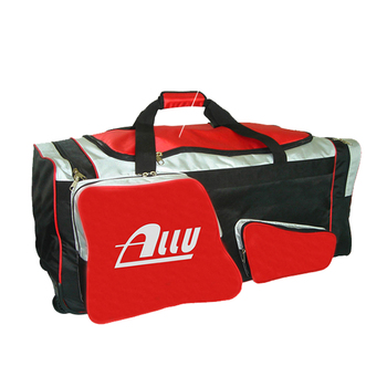 Durable Ice Hockey Team Equipment Gear Bag With Wheel