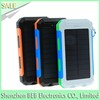 Wholesale 8000mah solar cell phone charger has low cost