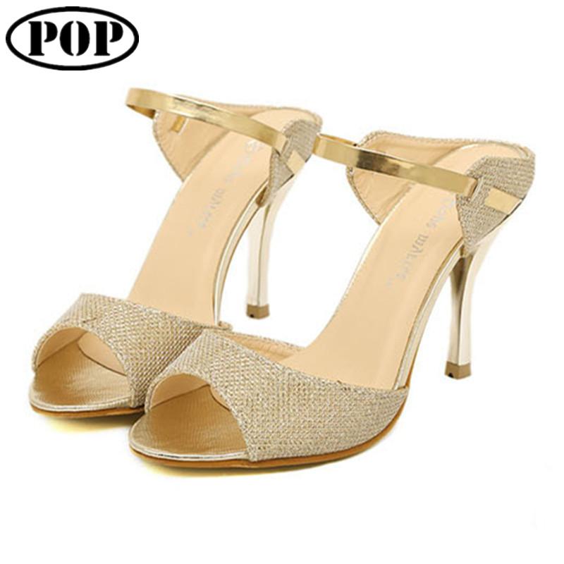 3d8ec11a38e Get Quotations · New 2015 Summer Fashion Women Sandal Casual Slip-on High  Heels Flip Flops Women Ankle