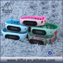Mould printing CE Rohs women oem fitness pedometer