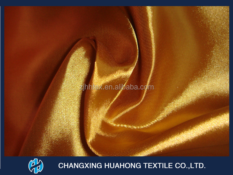 Sun screen polyester satin curtain fabric india with good quality