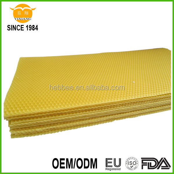 China High quality and Cheap Price wired Beeswax Foundation