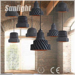 The designer of American village dining room retro modern ceramic screw cap loft pendant lamp for bar Coffee shop