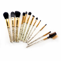 Good quality factory directly proffesion makeup brush makeup brush crystal makeup brush 12 set with cheapest price
