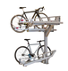2 tier bike rack stackable cycle vertical bike storage stand for parking rack