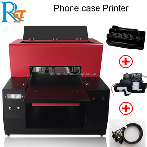 Direct to photo printer uv A3+ size flatbed printer machine for printing phone case