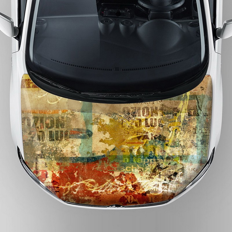 Alibaba Wholesale Custom Vinyl Decals Printable Car Graphic Wraps - Custom vinyl car hood decals