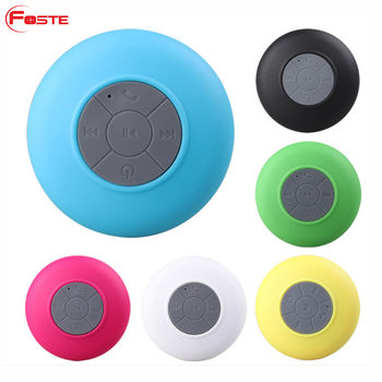 waterproof bluetooth shower speakers bathroom the speaker top