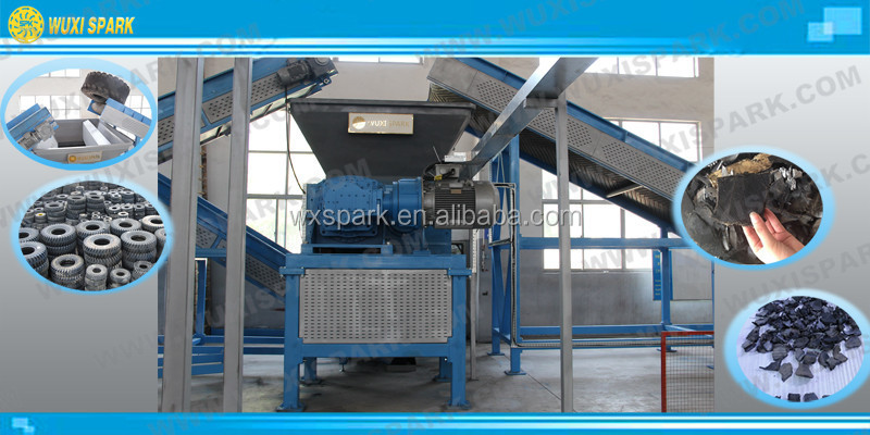 30% Energy Saving Scrap Tire Recycling Plant For Rubber Powder ...