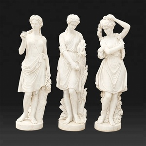 Large garden marble stone sculpture for sale