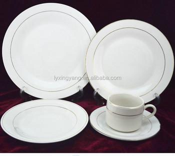 Clay Dinner Set Ceramicdinner Set Ceramic Plain Whitekitchen