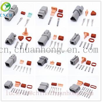 722d320f091709 Deutsch DT06-8S DT04-8P Eight Pins Male Female Waterproof Auto Connector