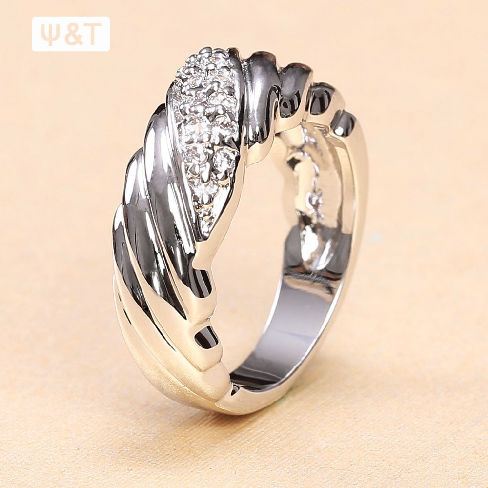 2015 Hot Fashion Men Black Stone Gold Finger Ring Design For Women Price  Metal Puzzle With