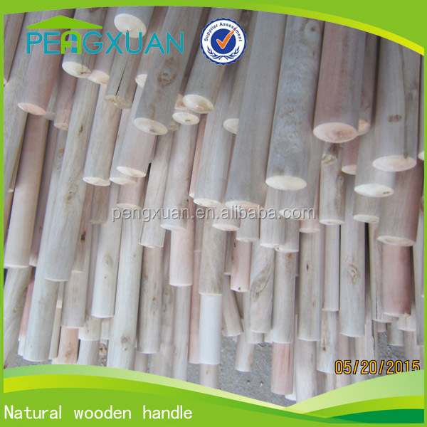 promotion round outdoor cleaning wood utility poles for mop