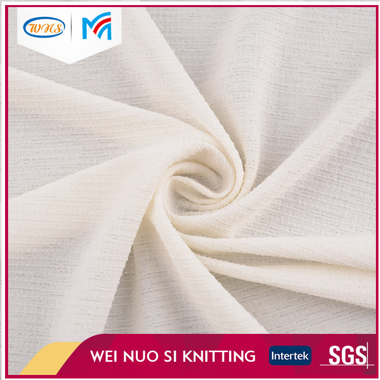 Alibaba supplier high grade weft design keep warm slinky knit fabric