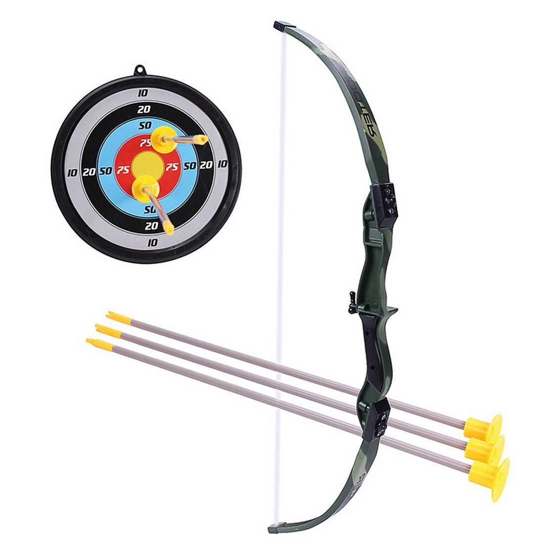 0447aff9e02 Get Quotations · WOLFBUSH Kids Archery Set