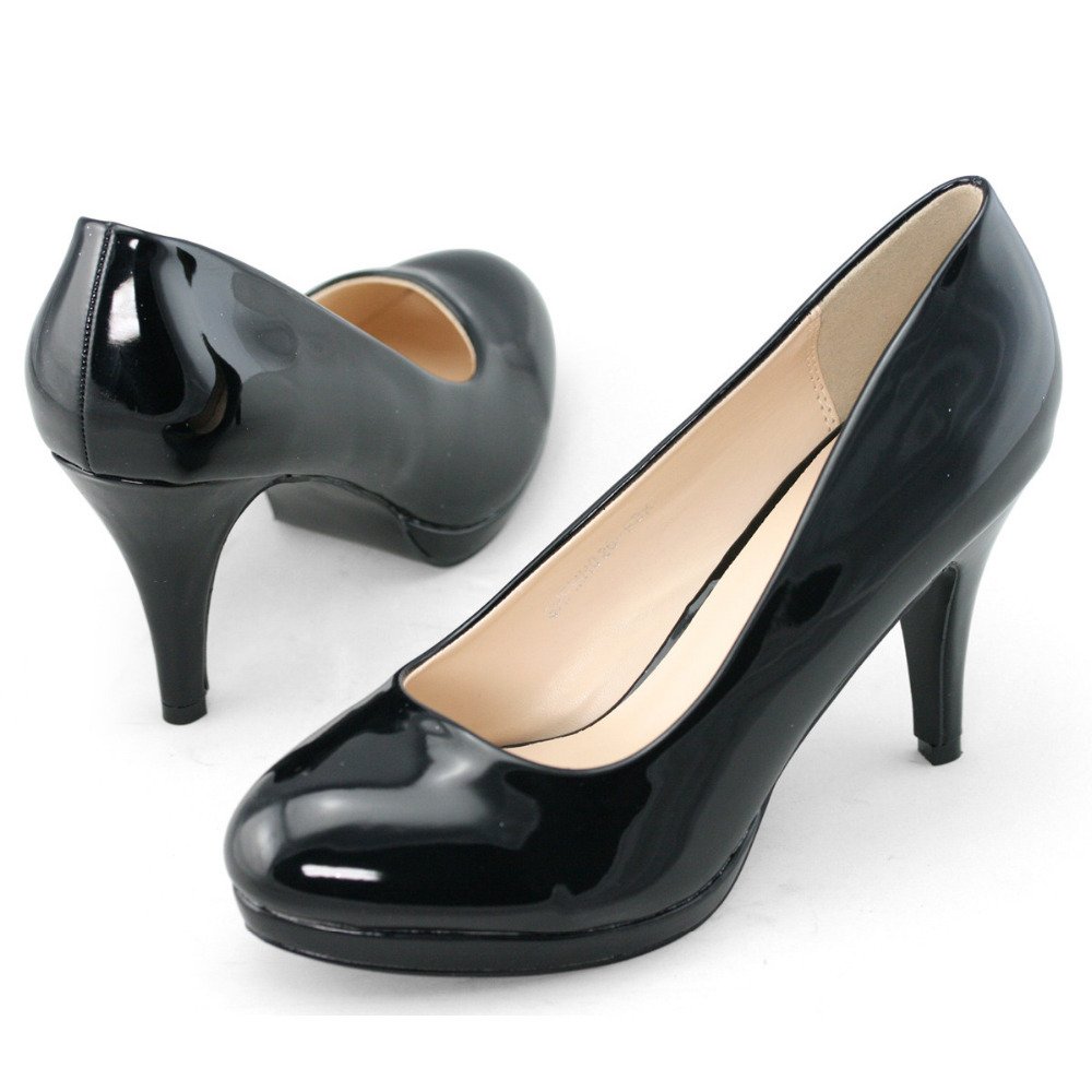 With you Black sexy pump the excellent