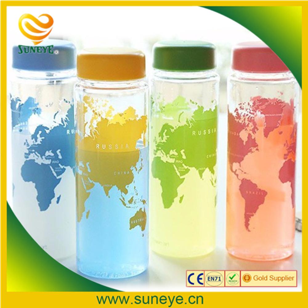 MY BOTTLE Clear Fruit Juice Water Drinking Cup Sports Travel Camp Bottle 500ML