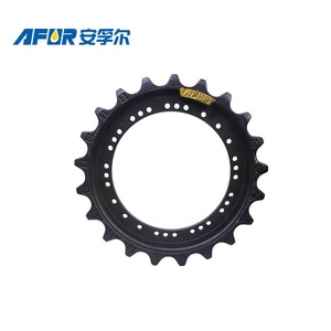 Undercarriage spare parts pc200-6 track sprocket for komatsu excavator spare parts