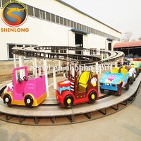 Outdoor amusement park climbing cars rides children mini shuttle for sale