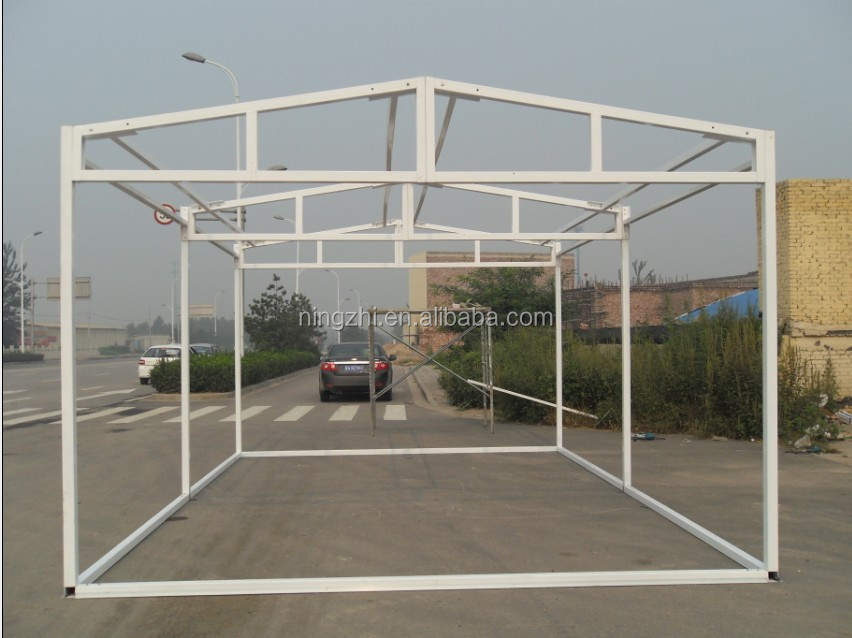 One Door Sandwich Panel Prefab Garage