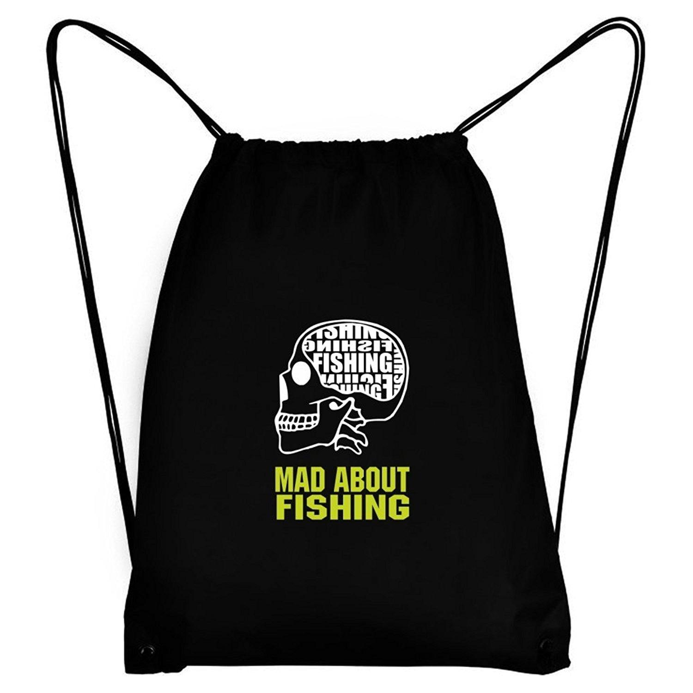 Teeburon MAD ABOUT Fishing SKULL Sport Bag