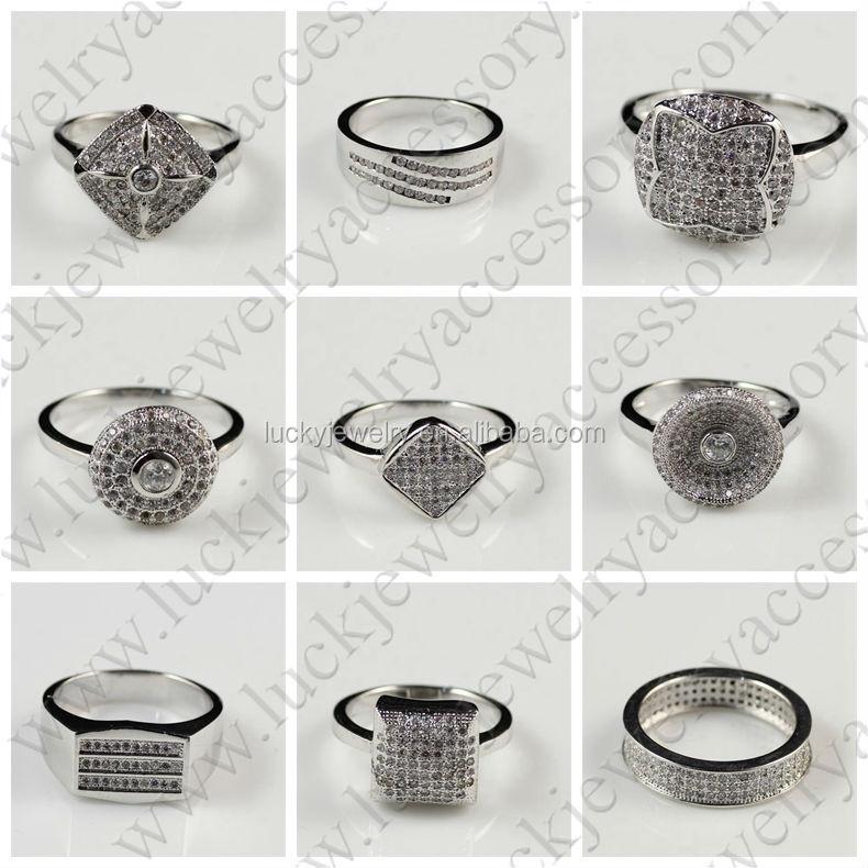 Fashion Turkish Silver Jewelry Sterns Wedding Rings Catalogue ...