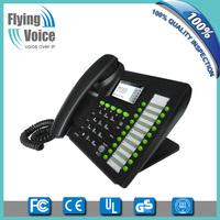 voip phone service skype phone wifi Flyingvoice desktop wifi sip phone IP652W