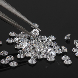 wholesale price round diamond cut 3.5mm 17.0pts lab-grown synthetic loose cvd diamond hpht gemstones