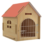 Wooden pet cage house dog kennel house cat house indoor outdoor