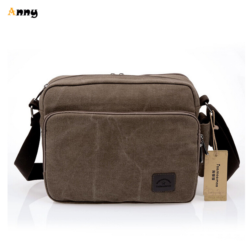7b483a0e9917 Get Quotations · ANNY- 3 Layers Outdoor Military Tactical Army Vintage Messenger  Bag Men Multifunctional Canvas Shoulder Bag