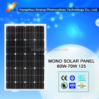 Best price 18V solar panel 70 watt for 12v solar system