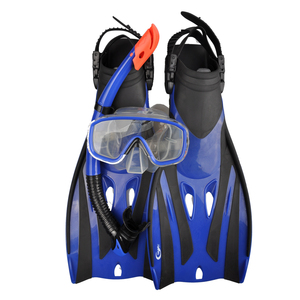 New Design silicone diving snorkeling mask and fins