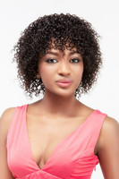 Wholesale virgin hair best grade natural color jerry curl hair cheap indian remy jerry curl full lace wig