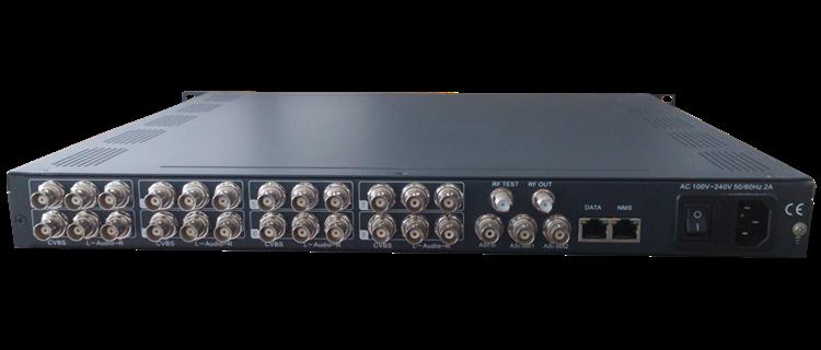 Audio Video Rf Modulator_8 Channel Mpeg-2 Encoding Av Dvbt ...