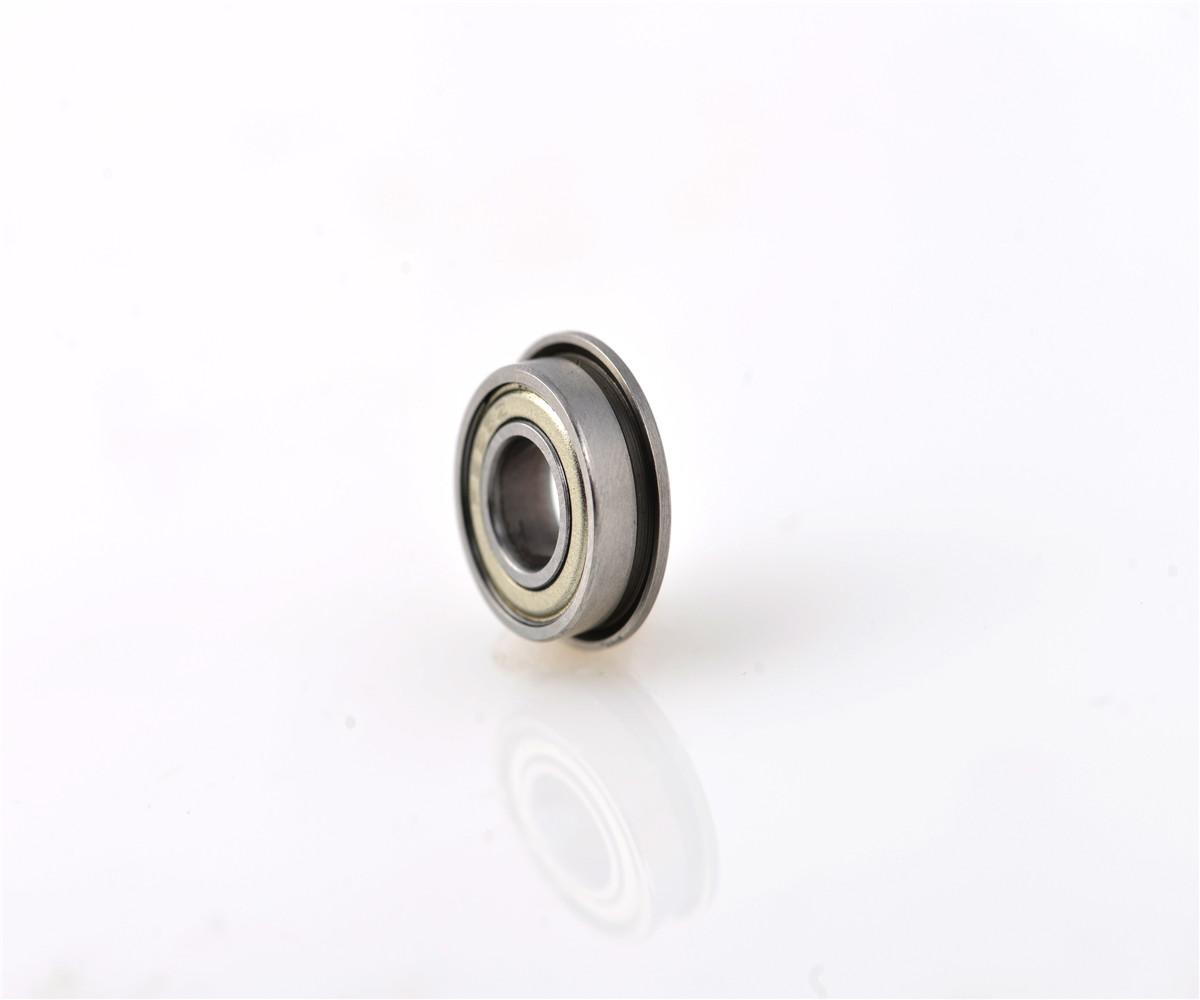 Miniature Metal Bearing Flanged Ball Bearing F698ZZ 8x19x6mm 5 PCS