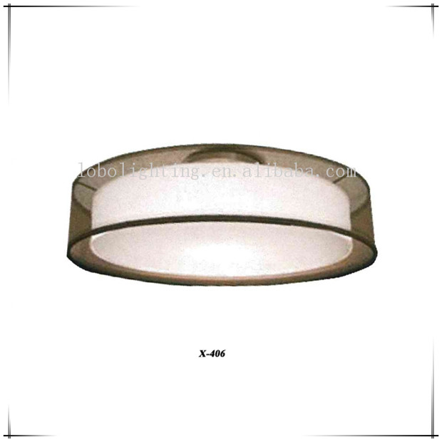 UL black fabric ceiling lamps