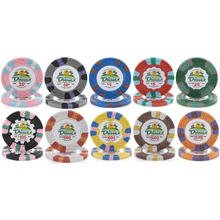 Adesivo personalizzato design disponibile 14g portatile di clay <span class=keywords><strong>poker</strong></span> chips
