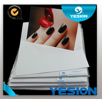 Yesion hot sale 260gsm A4, A3,A5,3R 4R rc rough inkjet oem professional photo paper for photo frame at a discount low price